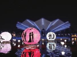 国庆中秋假期相约桂城灯会 体验法式浪漫