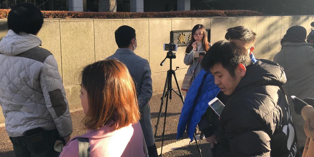 江歌案第二日庭外现场直击:最新情报