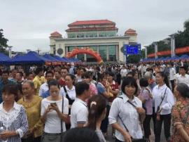 田阳县农村劳动力转移就业大型招聘会圆满举办