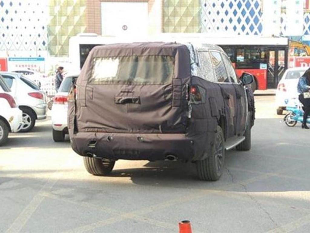 或为换代W5 荣威全新SUV整体造型很硬朗