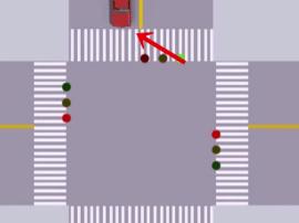 这样过没有红黄绿灯、没有交通警察的路口