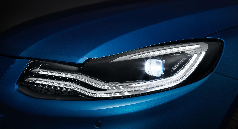 采用LED光源 新款腾势车灯细节图曝光