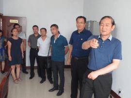 运城市食药局局长姚蔚到绛县调研食品药品安全监管
