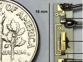 起搏器新突破 美研究者用微波给心脏起搏器供电