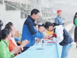浠水实验高中举行年度感动校园新闻人物颁奖大会
