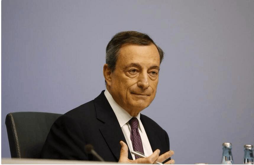 德拉吉:欧洲央行的印钞机依旧主宰着欧元区经济