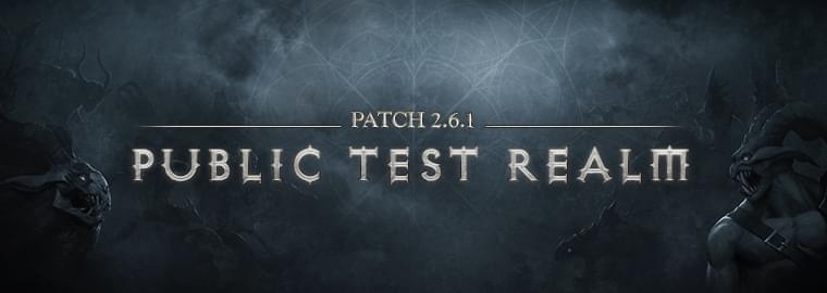 暗黑3蓝贴:PTR2.6.1补丁第五版延迟一天发布