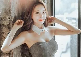 韩国电竞美女长腿迷人