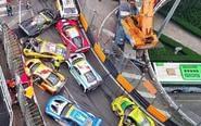 损失上亿 国内最贵车祸