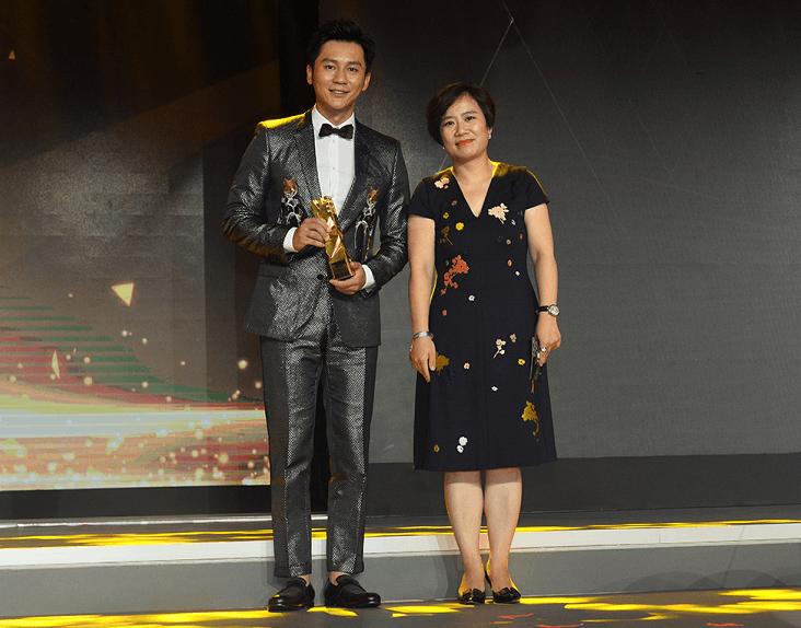 李晨获年度最具影响力跨界男明星