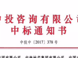 中海联合体发力拿下了雄安的第一标