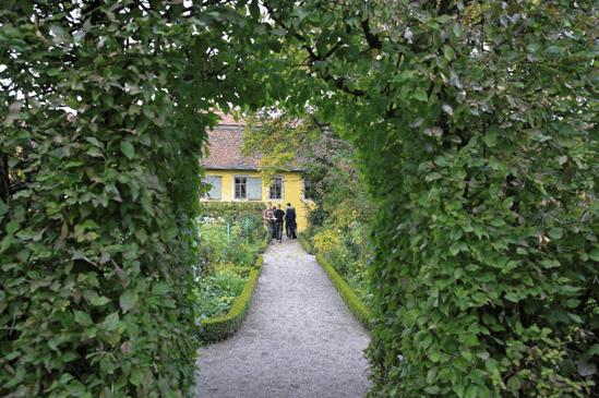 歌德故居后花园