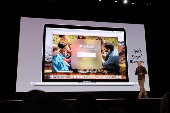 苹果发布新教育计划Apple School Manager