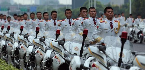 """护航G20峰会 """"最帅""""国宾护卫队亮相杭州"""