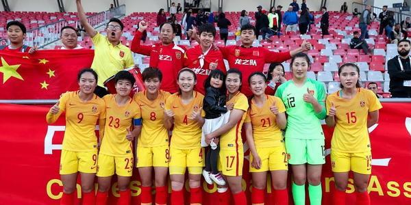 圆梦世界杯!中国女足3-0菲律宾 提前出线