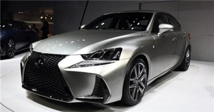 6月3日上市 新款雷克萨斯IS将推4款车型