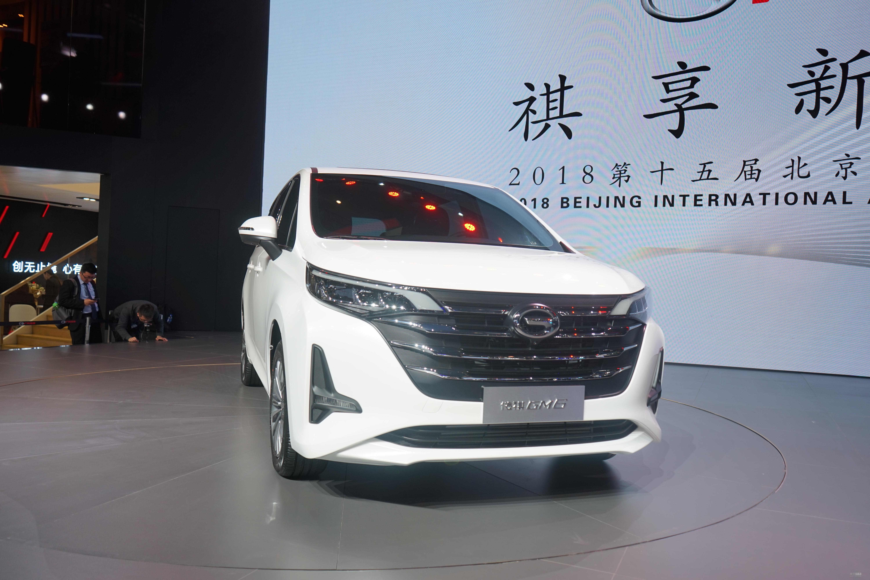 对标GL6/六座布局 广汽传祺GM6正式发布