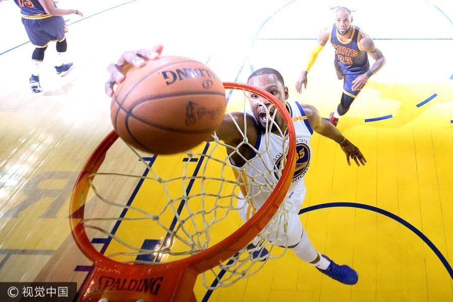 NBA总决赛G1:骑士91-113勇士