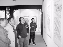 30余名书画家作品展 为太原献文化大餐