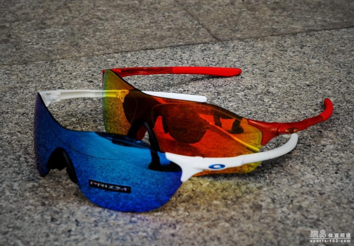 评测室:OAKLEY EVZERO SWIFT运动眼镜