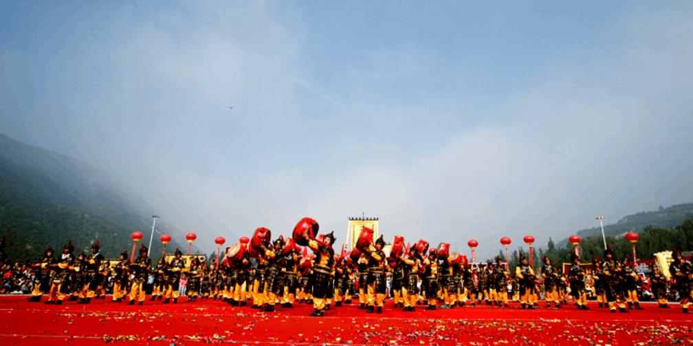 临汾市霍州第九届文化旅游月开幕