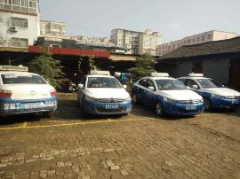 平陆县市场监管局开展出租车计价器检定活动