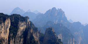 登顶王莽岭  见识太行山的雄奇壮美