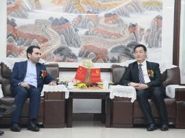 中国-伊朗企业家峰会拓展双边商贸新合作