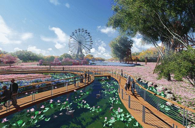 """花卉主题公园、岭南花街都被这里""""承包""""了!"""