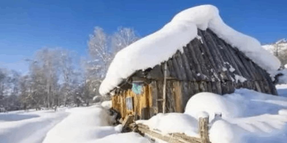 新疆冬春旅游 这里的冬天就像白色的童话世界