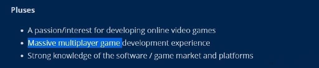 暗黑X开发组招收制作总监 预示项目已近成熟期