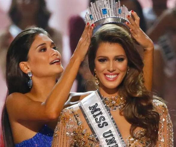 2016年伊丽斯当选法国年度小姐