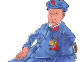 运城市乐省爱心联盟慰问光荣院抗战老英雄