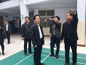 运城市教育局局长路胜利深入口腔卫生学校调研