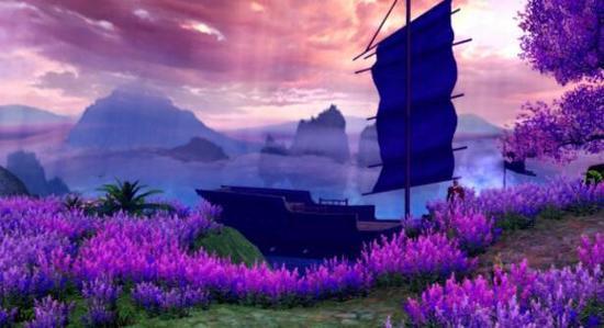 花海、大木船、还有个孤独的守将
