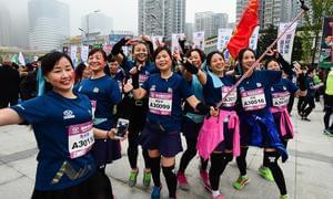 首届重庆半马吸引17国选手参赛 赛道风光获赞誉