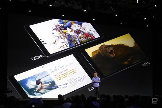 苹果发布新iPad Pro:10.5英寸版售价649美元起