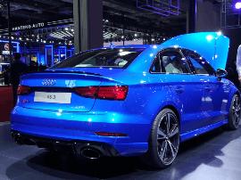 预售57.5万 奥迪RS3三厢版将9月10日上市