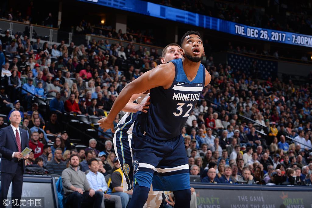 NBA收官日看点:森林狼掘金生死战 骑士仍有机会第3