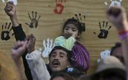 墨西哥地震灾民无家可归