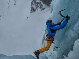 攀冰勇敢者的游戏掌握要领享受攀冰乐趣
