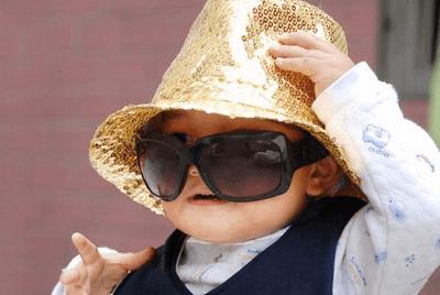 当心太阳镜伤了孩子眼睛