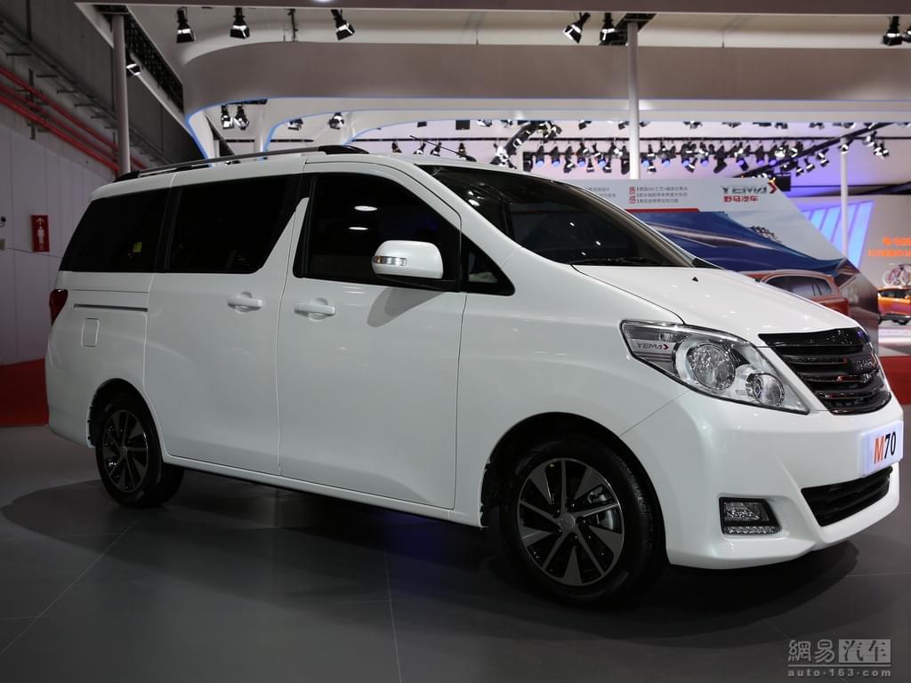 2017上海车展:野马汽车M70正式首发亮相