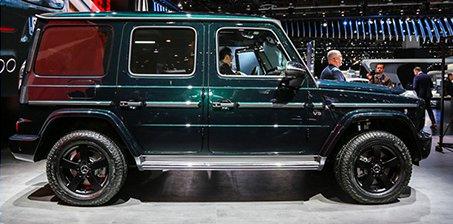 范冰冰刘涛就喜欢这么硬的车 新奔驰G级实拍