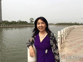 美籍华人女作家赫景秀  在大洋彼岸开辟生命新境界