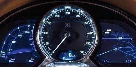 极速下的油老虎 布加迪9分钟烧完100L油
