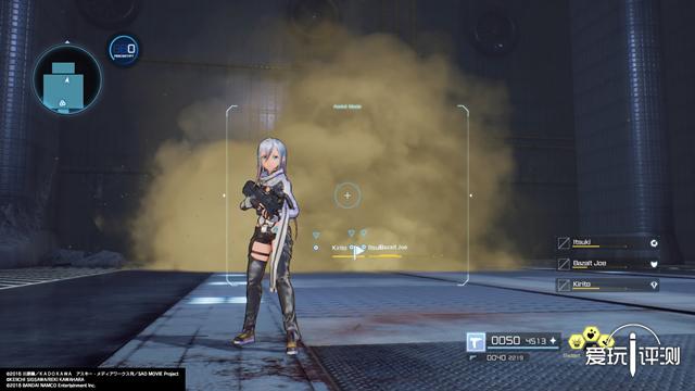 《刀剑神域 夺命凶弹》:披着SAO皮的TPS共斗游戏