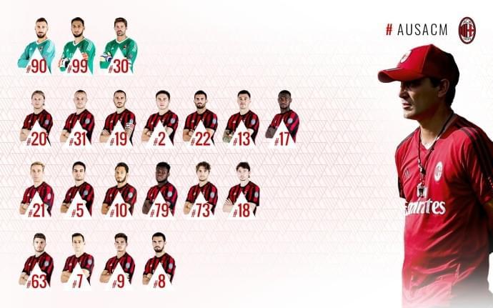 米兰公布欧联杯名单:R罗,小孔蒂落选 小罗马复出