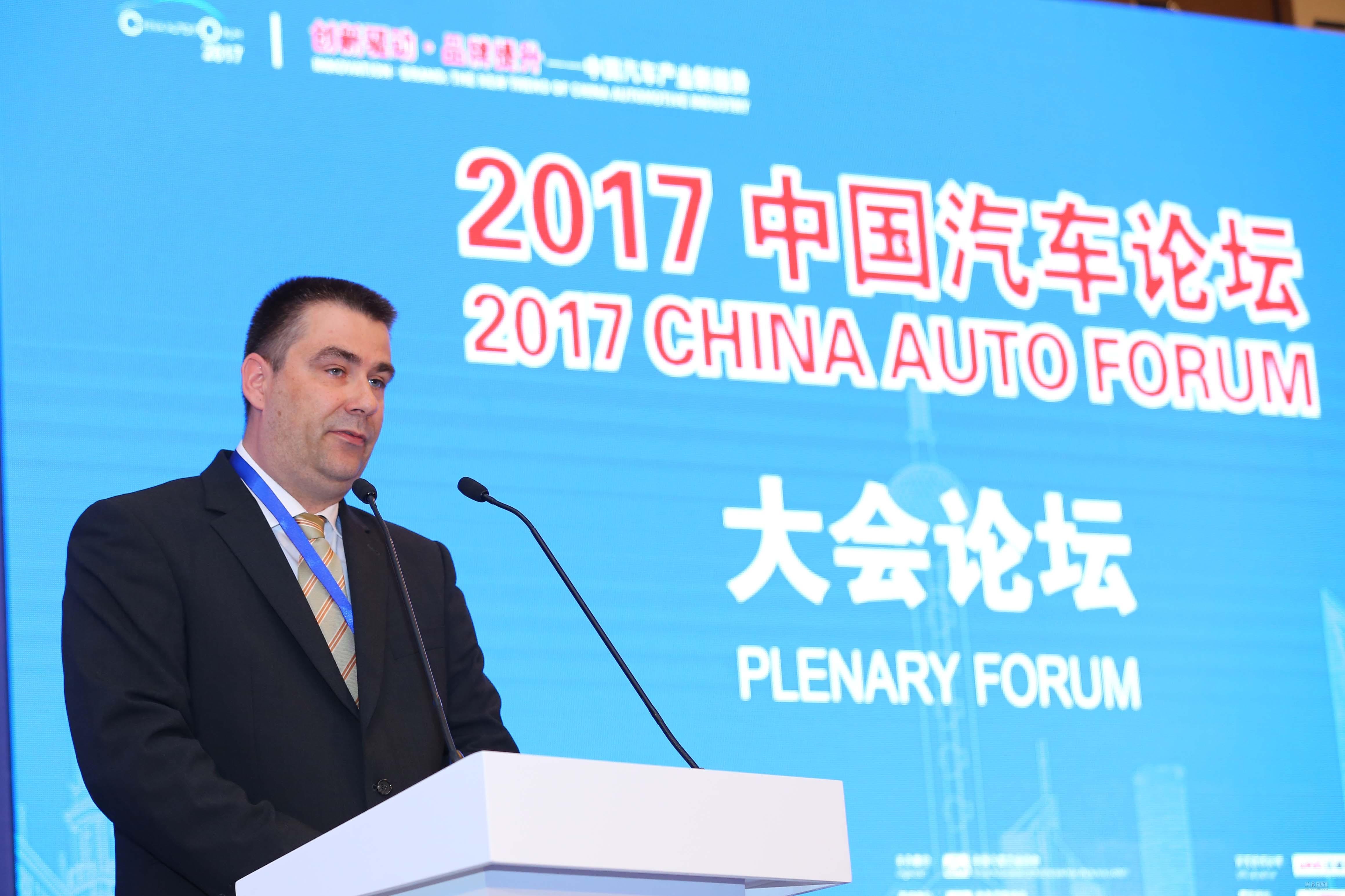 慕容特:未来中国汽车市场规模将是德国7倍