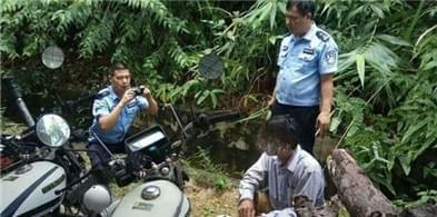 两男子盗窃林木逃离现场 吊罗山森警抓获网逃